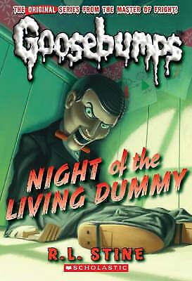 Stine, R L, Night of the Living Dummy (Classic Goosebumps), Paperback, Very Good