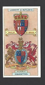 LAMBERT-amp-BUTLER-ARMS-OF-KINGS-amp-QUEENS-OF-ENGLAND-25-MARY