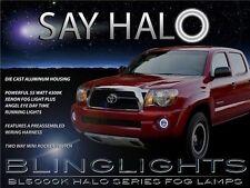 2005-2011 Toyota Tacoma Halo Fog Lamp Angel Eye Driving Light Kit + Harness