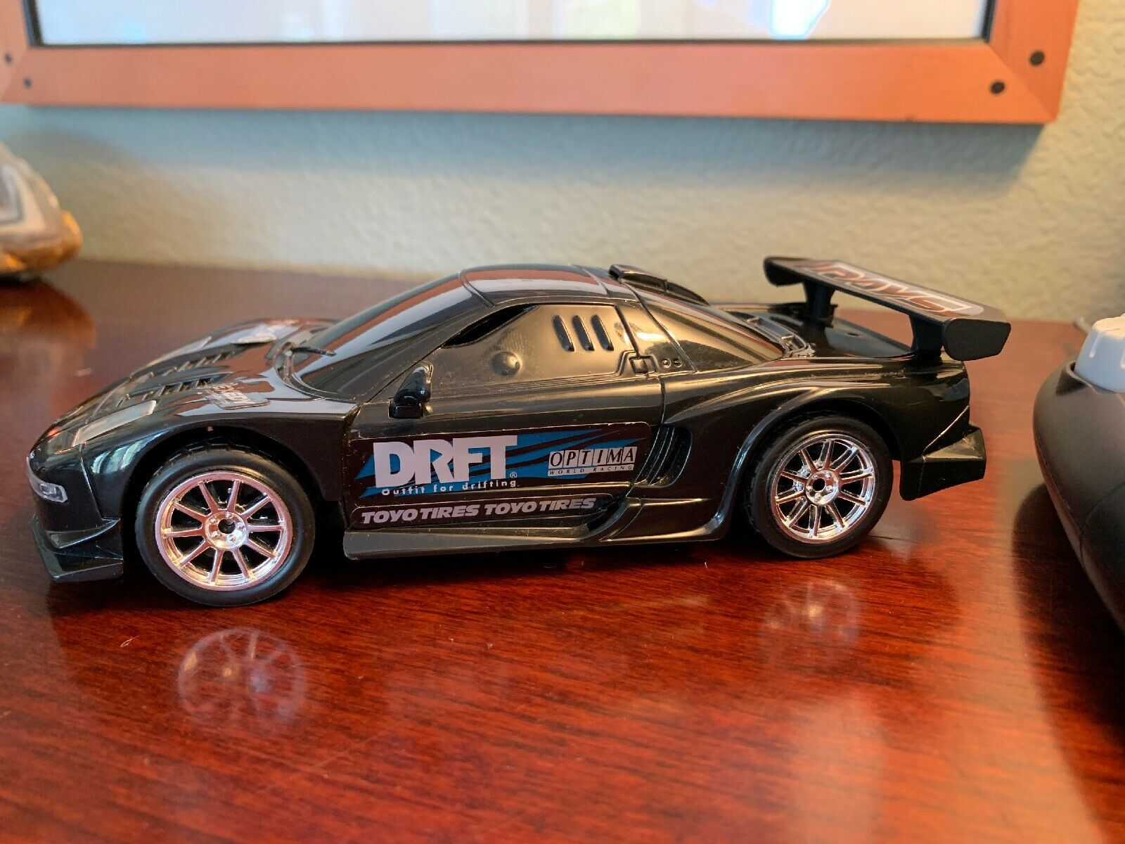 Fast and the Furious 49mhz Nikko 2003 Acura NSX RC DRFT Race Car Vintage Rare