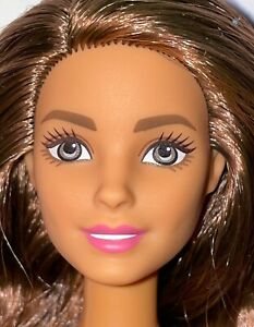 Barbie Made to Move Teresa NUDE Brunette Doll Jointed Articulated Brown Hair NEW