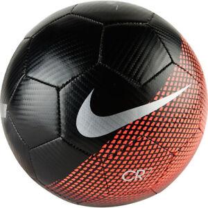 09acb9f9a Nike CR Cristiano Ronaldo CR7 Prstge 2018 - 2019 Soccer Ball Black ...