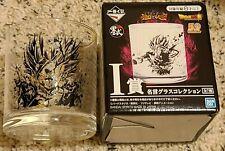 Dragonball Super Battle Z glass cup kuji item New