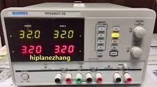 3 Channels Programmable Dc Power Supply Triple Output 0 30v3a 25v33v5v3a