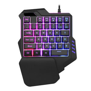 Left-Hand-Game-Keypad-For-LOL-Dota-OW-PUBG-Backlight-Gaming-Keyboard