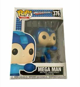 Brand New Funko Pop Games Megaman # 376 Vinyl Figure Ships In A Box