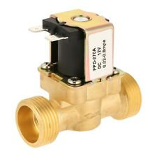 Dc12v G34 Normal Closed Brass Electric Solenoid Valve For Water 002mpa08mpa