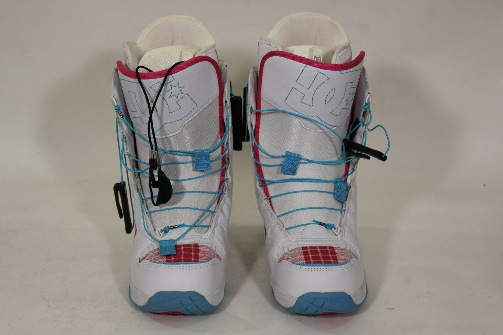DC Siloh Womens Snowboard Boots US  7 or White Ruby SB23  clearance