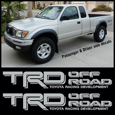 ELK TOYOTA TRD OFF ROAD Side truck bed Tacoma Tundra Sticker 2 Decals