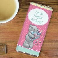 Me To You Personalised Candy Girl Chocolate Bar Gift - Tatty Teddy Bear