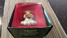 1987 Enesco Angel on a Cloud Lucy and Me Bear Angel Handcrafted Ornament