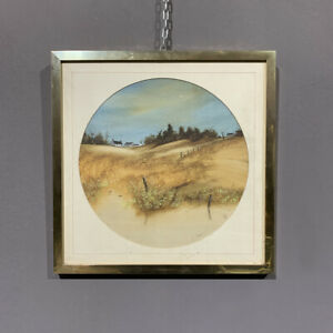 Antique Oil on Canvas Loch Ard. Scotland Period Xx Century George Spence