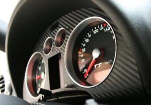Audi TT 8N RS TTS Roadster Coupé quattro Dekoreinlage Tacho Carbon Optik Folie