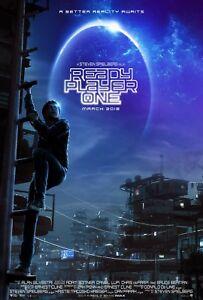 READY PLAYER ONE MOVIE POSTER FILM ART A4 A3 PRINT CINEMA #2