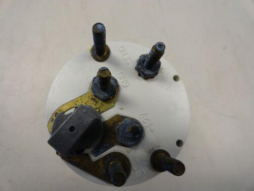 MERCURY QUICKSILVER WATER TEMPERATURE GAUGE 79-816933 MARINE BOAT