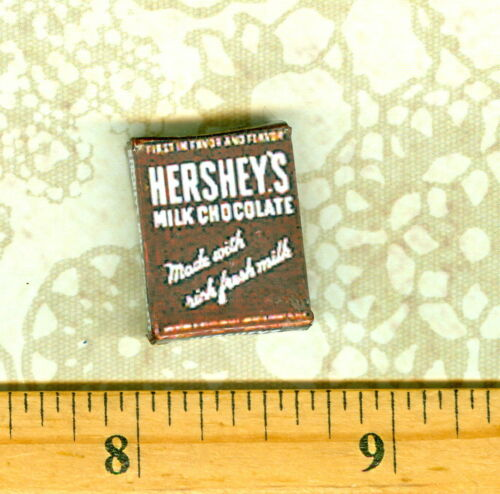 Dollhouse Miniature Size Chocolate Bar Box------Like for Smores