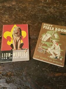 2-vintage-boy-scout-books-Lot-of-2-books