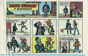 Rick-O-039-Shay-by-Alfredo-Alcala-half-tab-color-Sunday-comic-page-Oct-2-1977