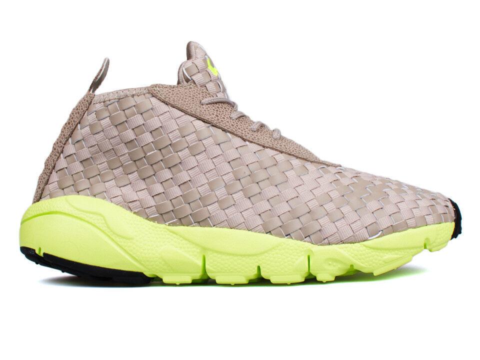 Nike Air Footscape Desert Chukka QS Chino Volt Black 652822 200 Mens New