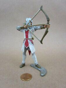 """Schleich World of Knights Red Griffin Knight Archer Figurine 4"""" Tall"""
