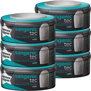 TOMMEE TIPPEE Recharges X9 Sangenic TEC M/égapack
