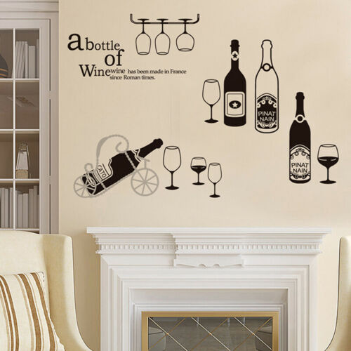 Quote Wall Stickers Vinyl Art Home Room DIY Decal Home Decor Removable MuralPVCA