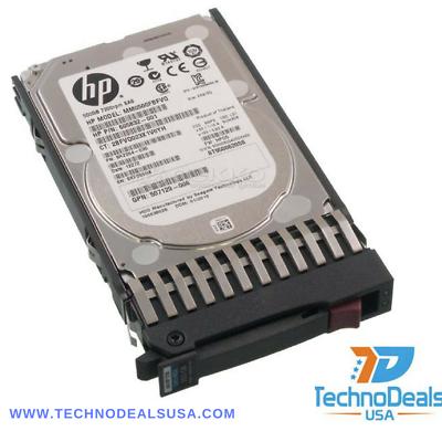 """New HP ProLiant DL360e G8 DL360p G8 500GB 7.2K SATA 3.5/"""" Hard Drive// 1 YR WNTY"""