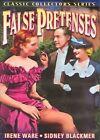 False Pretenses 0089218502193 With Irene Ware DVD Region 1 &h