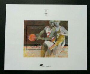 SJ-Portugal-Olympic-Games-Barcelona-1992-Sport-Games-Basket-Ball-ms-MNH