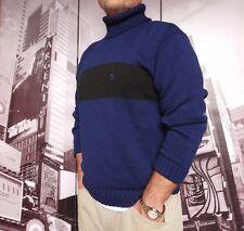 POLO Ralph Lauren Turtleneck size MEN'S NAVY / BLACK  L