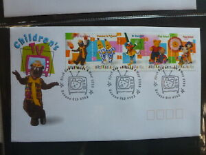 AUSTRALIA-1999-CHILDRENS-TV-STRIP-5-STAMPS-FDC-FIRST-DAY-COVER