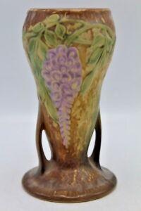 Vintage-Roseville-Wisteria-Vase-8-5-034-tall-Circa-1933-635-8