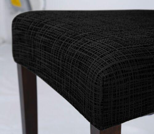 2er Set Beautex universal Stretch Stuhlhusse Streifen elastische Husse
