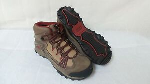 New! Wolverine Women's Maggie Mid Steel Toe EH Work Boot Style W02210 Brown/Red