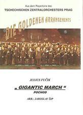 Blasmusiknoten Gigantic Marsch