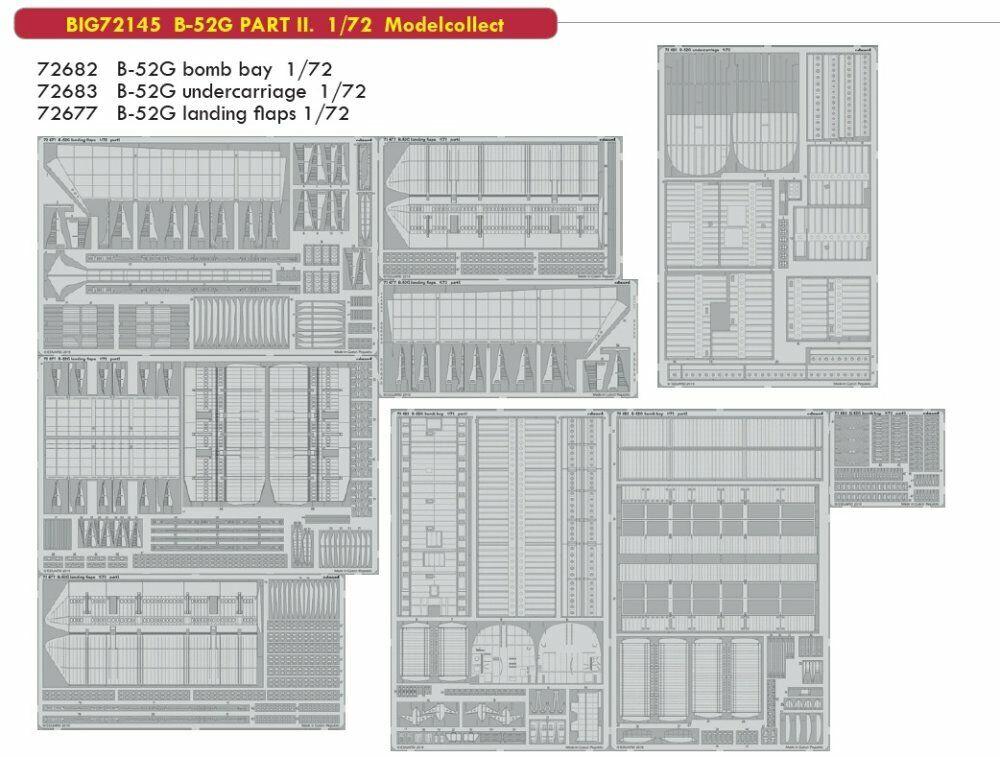 Eduard Big Ed 72145 1 72 Boeing B-52G Stratofortress PART II Modelcollect
