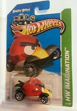 Hot Wheels Angry Birds Red Bird Cast Metal  Scale Car Hw