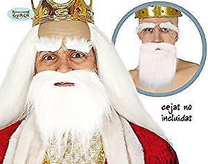 Short White Beard Christmas Santa Shepherd Wise Men Nativity