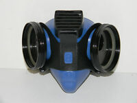 Ao Safety S5500 50099 5-star Respirator Half Mask Dual Cartridge