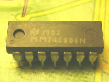ci MM74C906N ~ ic MM 74C906 N ~ Hex Open Drain N-Channel Buffers CI37 1 piece