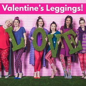 ef99057d7c22d Image is loading NWT-LuLaRoe-Valentine-MYSTERY-Leggings-S-M-L-XL-Tween-