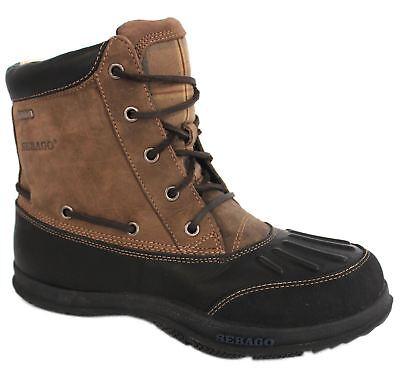 Sebago Mens Wells Riverbank Waterproof Mid Boots Blk-toffee-plaid B17101 Size Uk Elegant Und Anmutig