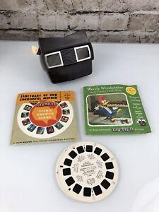 Vintage Sawyers View Master With ViewMaster Reels Set Total 10 Reels Disney More