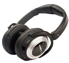 Plane Quiet Platinum Active Noise Canceling Stereo Headphones Air Travel Headset