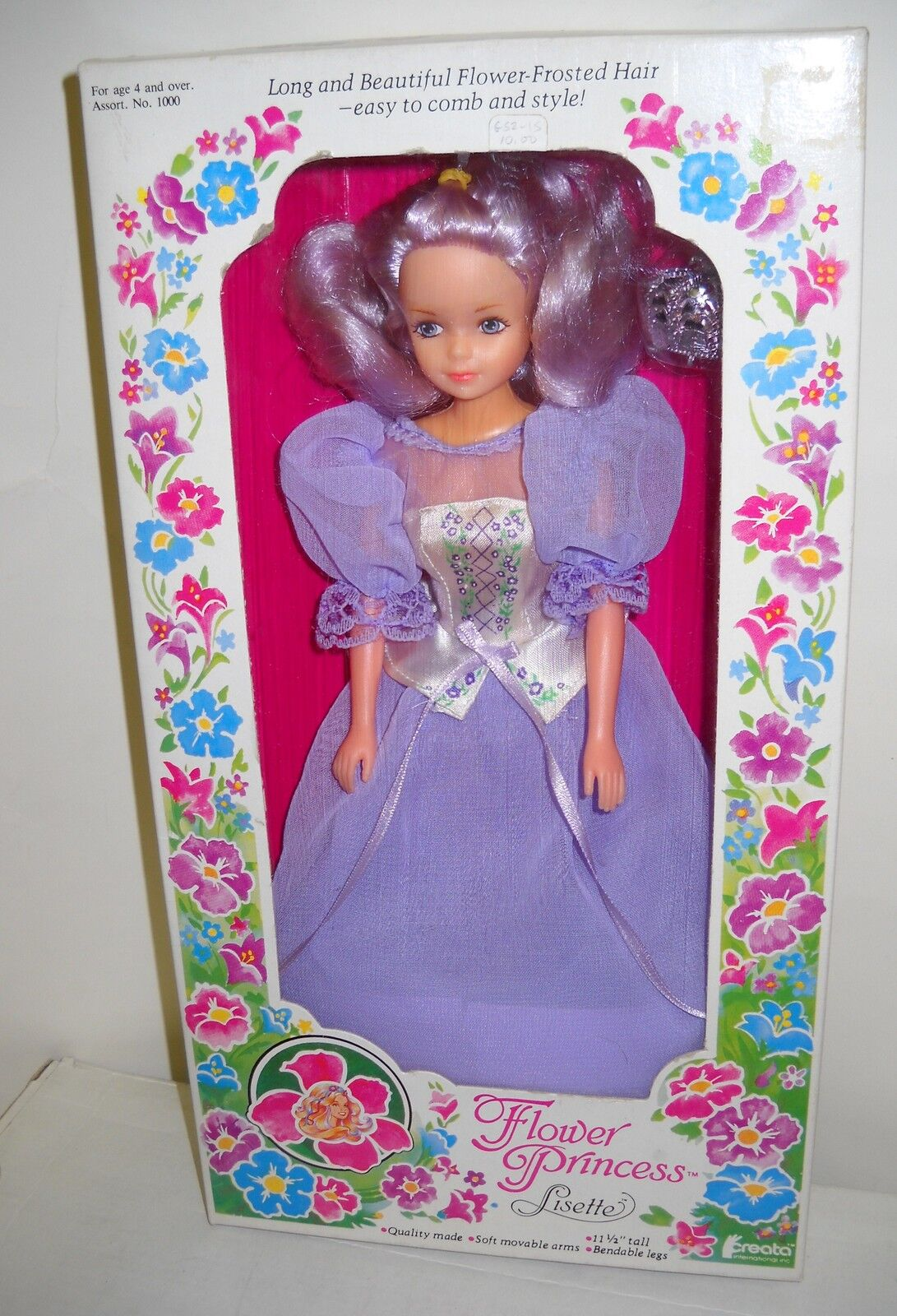 Flor De Caja Vintage CREATA Princesa Lisette 11 1 2  Muñeca De Moda
