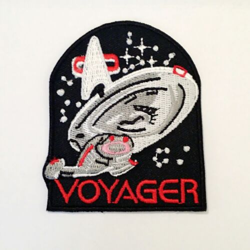 STARTREK VOYAGE IRON ON PATCH FREE IRON ON WHEN BUY CAP IN STORE AT SAME TIME