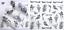 Adesivi-Unghie-Decalcomanie-Nail-Art-WATER-Decals-Stickers-Lavande-Fiori-Farfall miniatuur 34