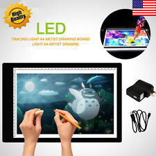 LED Tracing Light Box Board Art Tattoo A4 Drawing Pad Table Stencil Display BY