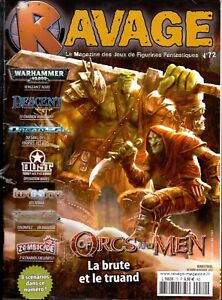 Magazine Ravage N° 72 Octobre Novembre 2012 Gagner Une Grande Admiration Et On Fait Largement Confiance à La Maison Et à L'éTranger.