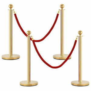 Ball-Head-Stainless-Stanchion-Post-Crowd-Control-Barrier